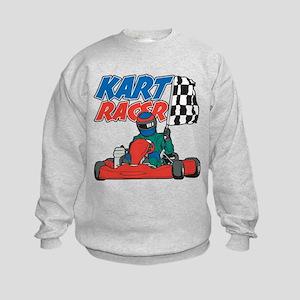 Kart Racer Kids Sweatshirt