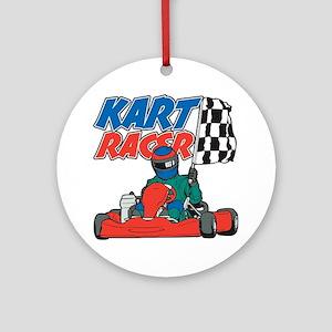 Kart Racer Ornament (Round)