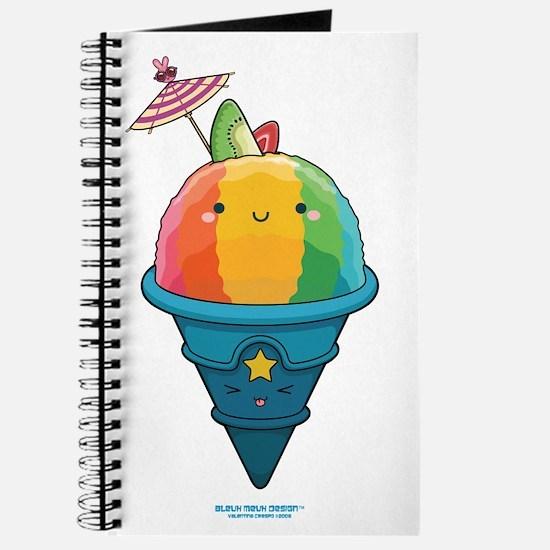 Kawaii Rainbow Shaved Ice Journal