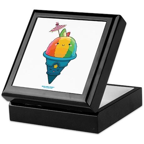 Kawaii Rainbow Shaved Ice Keepsake Box