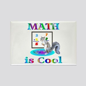 Math is Cool Rectangle Magnet