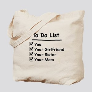 His to Do List Tote Bag