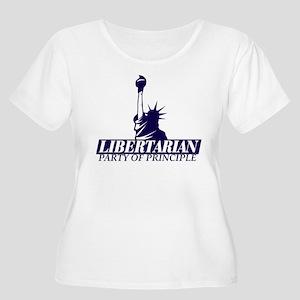 Libertarian Women's Plus Size Scoop Neck T-Shirt