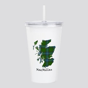 Map-MacMillan hunting Acrylic Double-wall Tumbler