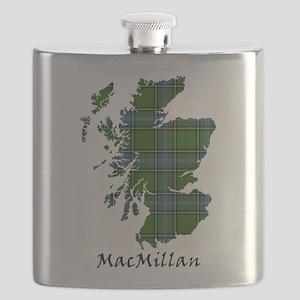 Map-MacMillan hunting Flask