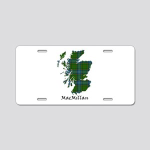 Map-MacMillan hunting Aluminum License Plate