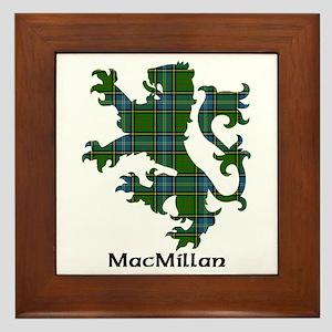 Lion-MacMillan hunting Framed Tile