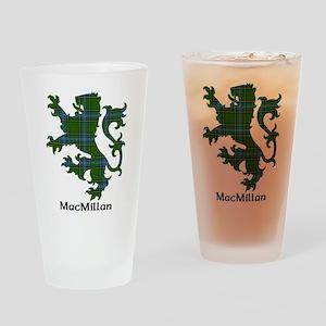 Lion-MacMillan hunting Drinking Glass