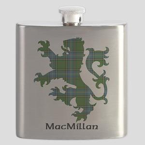 Lion-MacMillan hunting Flask