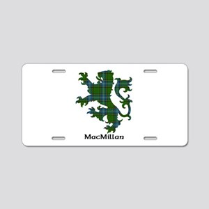 Lion-MacMillan hunting Aluminum License Plate
