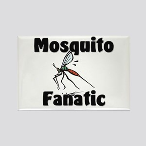 Mosquito Fanatic Rectangle Magnet