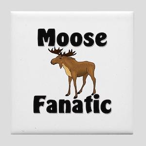 Moose Fanatic Tile Coaster