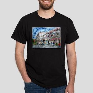 Savannah Georgia River Street Dark T-Shirt
