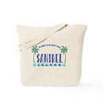 Sanibel Happy Place - Tote or Beach Bag