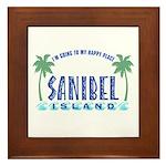 Sanibel Happy Place - Framed Tile