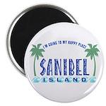 Sanibel Happy Place - Magnet