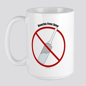 Douche Free Zone Large Mug