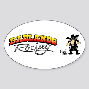 Badlands Racing Oval Sticker