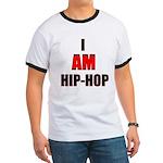 I Am Hip-Hop Ringer Tee