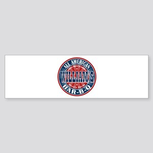 William's All American BBQ Bumper Sticker