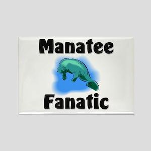 Manatee Fanatic Rectangle Magnet