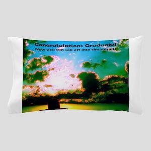 Congratulations Graduate Clouds Watert Pillow Case