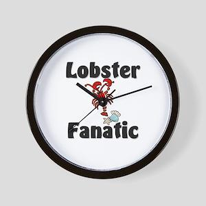 Lobster Fanatic Wall Clock