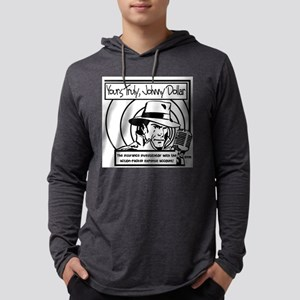 Yours Truly Johnny Dollar BW Long Sleeve T-Shirt
