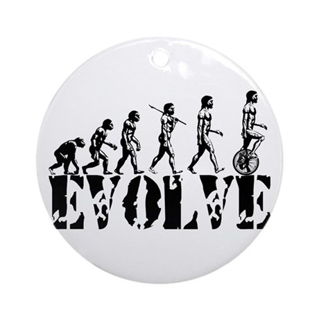 Unicycle Unicycling Unicyclist Ornament (Round)