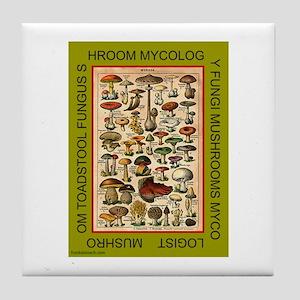 MYCOLOGIST Tile Coaster