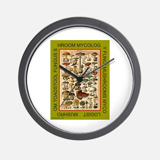 MYCOLOGIST Wall Clock