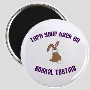 Rabbit turn yr back (ASPCA) Magnet