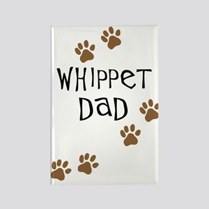Whippet Dad Rectangle Magnet