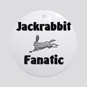 Jackrabbit Fanatic Ornament (Round)