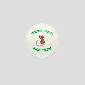Rat turn yr back (ASPCA) Mini Button