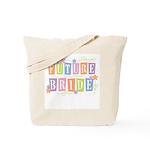 Color Blocks Future Bride Tote Bag