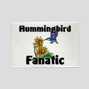 Hummingbird Fanatic Rectangle Magnet