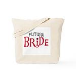 Future Bride Red Tote Bag