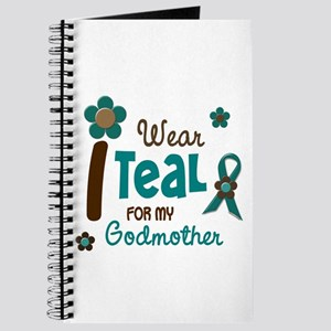 I Wear Teal For My Godmother 12 Journal
