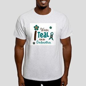 I Wear Teal For My Godmother 12 Light T-Shirt