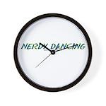 Nerdy Dancing Wall Clock