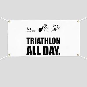 Triathlon All Day Banner