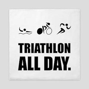 Triathlon All Day Queen Duvet