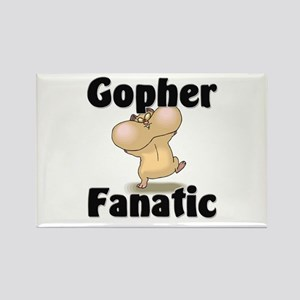 Gopher Fanatic Rectangle Magnet