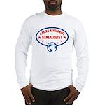 Worlds Handsomest Genealogist Long Sleeve T-Shirt