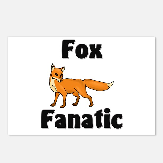 Fox Fanatic Postcards (Package of 8)