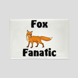 Fox Fanatic Rectangle Magnet