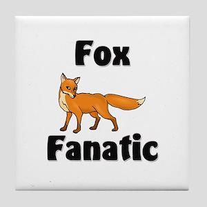 Fox Fanatic Tile Coaster
