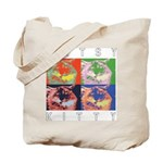 Artsy Kitty Tote Bag