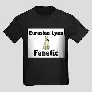 Eurasian Lynx Fanatic Kids Dark T-Shirt